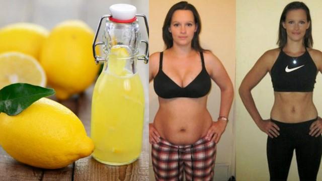En video: Pierde 5 kilos y aplana el abdomen en una semana con la dieta del limón