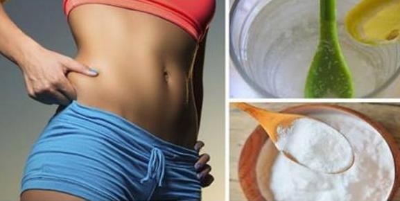 El bicarbonato de sodio elimina la grasa de la barriga, muslos, brazos y espalda: Pero solo funciona si lo prepara de esta forma