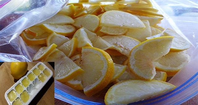 Esta es la razón por la que voy a congelar limones de ahora en adelante… Nadie podía imaginar esto!