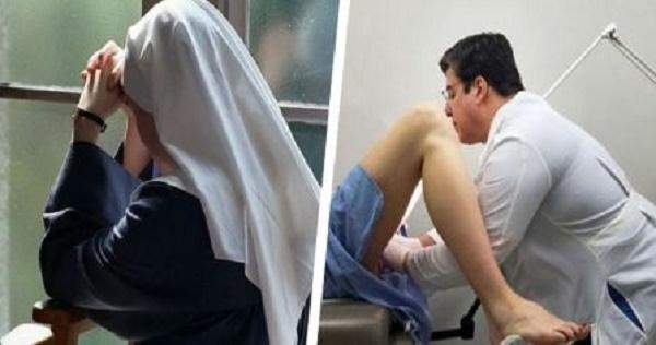 ¡OMG! lo que paso cuando esta monja fue al ginecologo